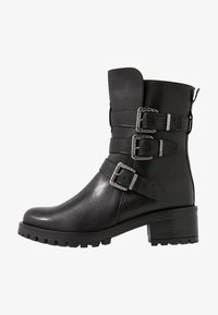 Pinto Di Blu - Cowboy/biker ankle boot - noir - 1