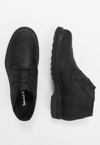 Timberland - SQUALL CANYON WP CHUKKA - Lace-up ankle boots - black - 1