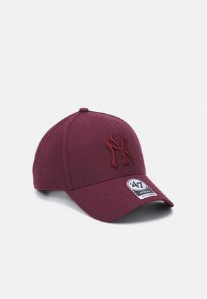 NEW YORK YANKEES SNAPBACK UNISEX - Cap - dark maroon