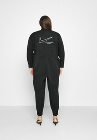 Nike Sportswear - UTILITY - Jumpsuit - black/white - 2
