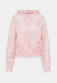 Guess - PACKABLE HOODED - Training jacket - washed out pink - 0