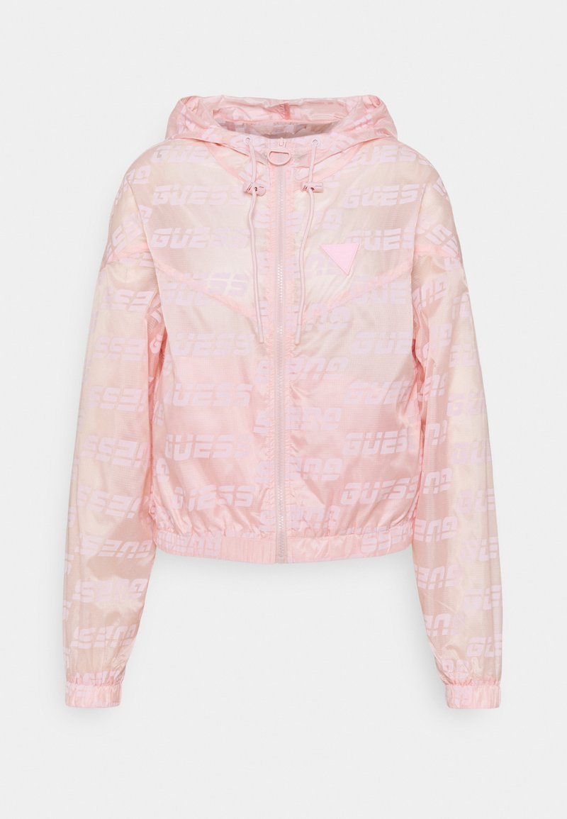 Guess - PACKABLE HOODED - Training jacket - washed out pink