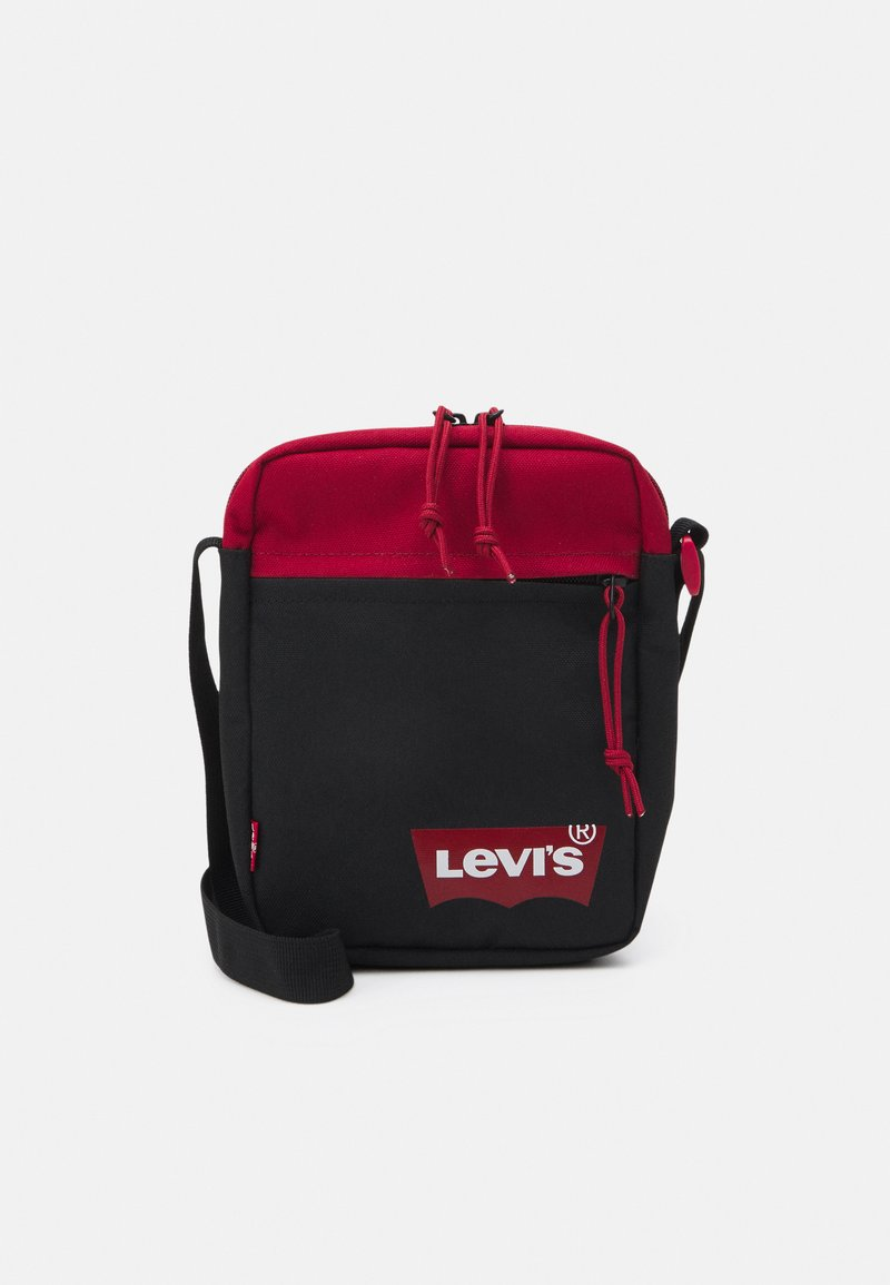 Levi's® - MINI CROSSBODY SOLID BATWING - Across body bag - regular red