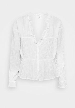 ROMANTIC CHI BLOUSE - Blouse - white