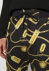 Versace Jeans Couture - Spodnie treningowe - black - 3