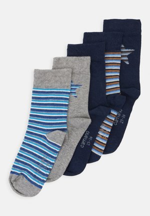 CHILDREN SOCKS 5 PACK - Ponožky - blue
