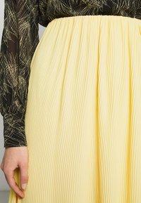 Bruuns Bazaar - CECILIE SKIRT - Áčková sukně - sunshine - 5