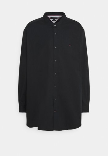 STRETCH POPLIN SHIRT - Shirt - black