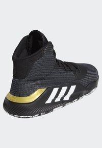 adidas Performance - PRO BOUNCE 2019 SHOES - Basketball shoes - black - 4