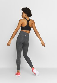 Reebok - LUX HIGHRISE - Tights - dark grey - 2