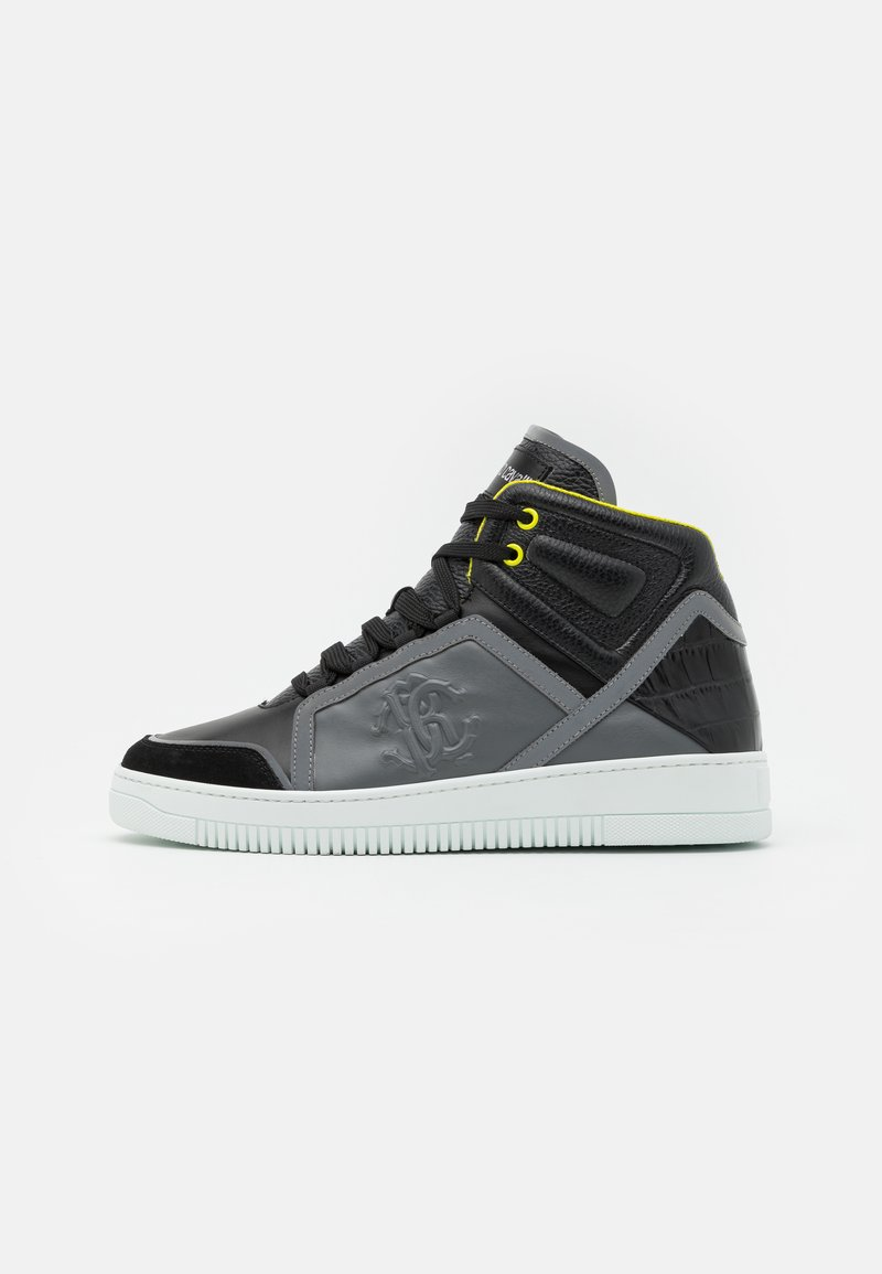 Roberto Cavalli - High-top trainers - black/grey