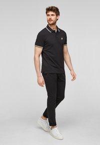 s.Oliver - Polo shirt - black - 1