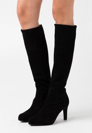 PAULINE - High heeled boots - schwarz