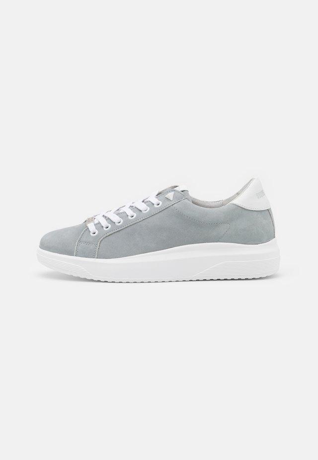ALEX - Trainers - grey/blue