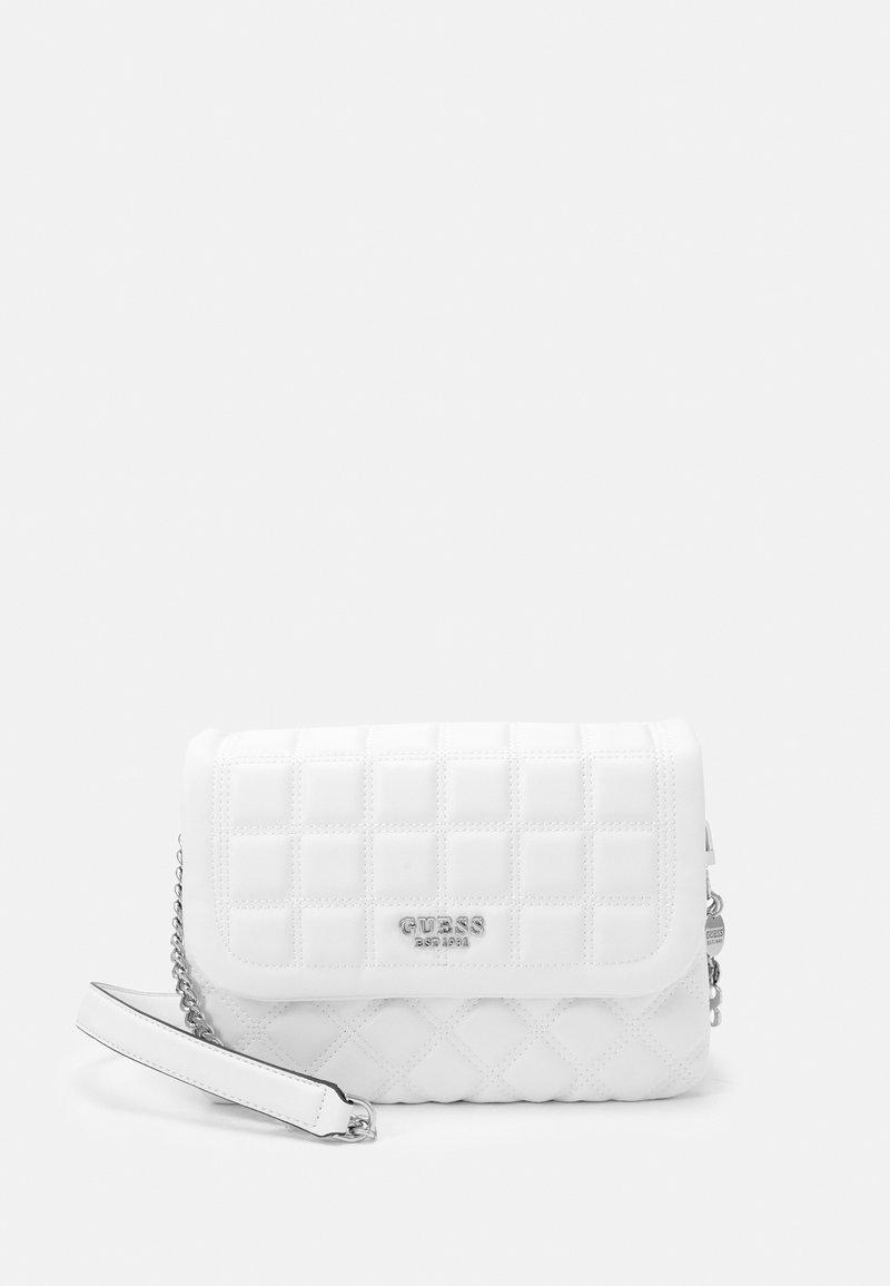 Guess - KAMINA FLAP - Across body bag - white