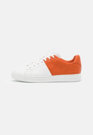 CASPIAN - Matalavartiset tennarit - flame orange