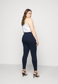 Missguided Plus - RING ZIP OUTLAW - Jegging - deep blue - 2