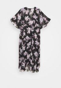 Forever New Curve - EMMA FLUTTER WRAP DRESS - Day dress - midnight bloom - 1