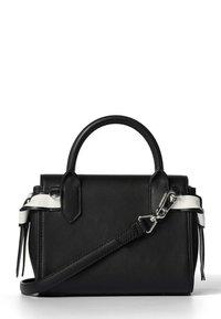 KARL LAGERFELD - Across body bag - black/ white - 2