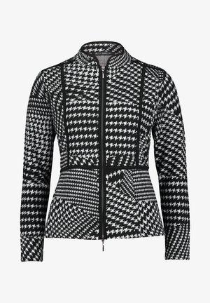 Summer jacket - schwarz/weiß