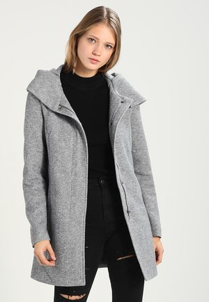 NOOS - Short coat - light grey melange