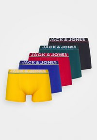 Jack & Jones - JACCOLORFUL LINE TRUNKS 5 PACK - Culotte - surf the web/viridian/chili/cascade - 4