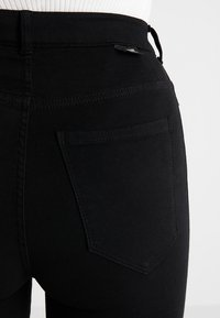 Dr.Denim Tall - MOXY HIGH WAIST - Skinny-Farkut - black - 3