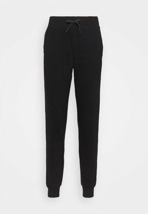 SLIM LEG JOGGER - Teplákové kalhoty - black