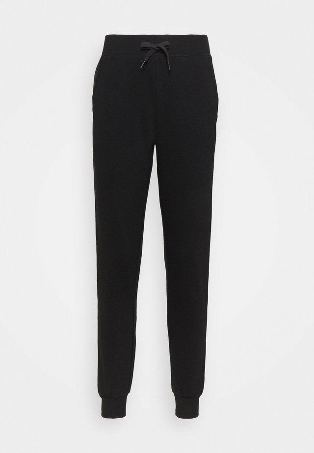 SLIM LEG JOGGER - Pantalones deportivos - black