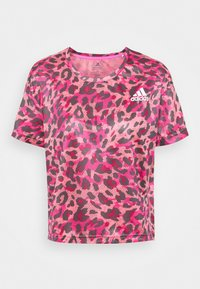 adidas Performance - PRIMEBLUE TEE - T-shirt con stampa - light pink - 4
