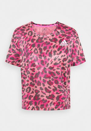 PRIMEBLUE TEE - T-shirt con stampa - light pink
