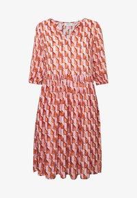 Progetto Quid - DRESS  - Vestido camisero - pink/orange - 3