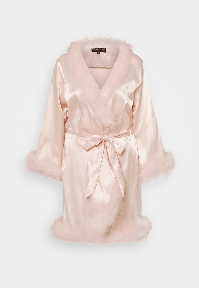 CANDICE KIMONO - Morgonrock - dusty pink
