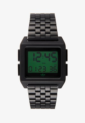 ARCHIVE - Digital watch - black/green