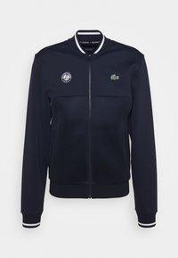 Lacoste Sport - TENNIS JACKET  - Träningsjacka - navy blue/white - 4