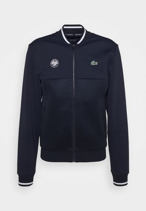 TENNIS JACKET  - Veste de survêtement - navy blue/white