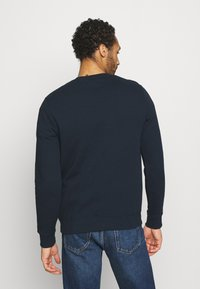 Burton Menswear London - SWALL EMBROIDERED CREW - Sweatshirt - navy - 2