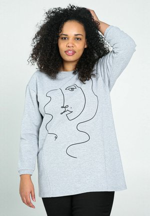 Sweatshirt - heather gray