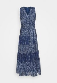 Lauren Ralph Lauren - CRINKLE DRESS - Day dress - blue/multi - 6