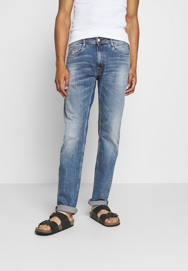ROCCO - Straight leg -farkut - light blue