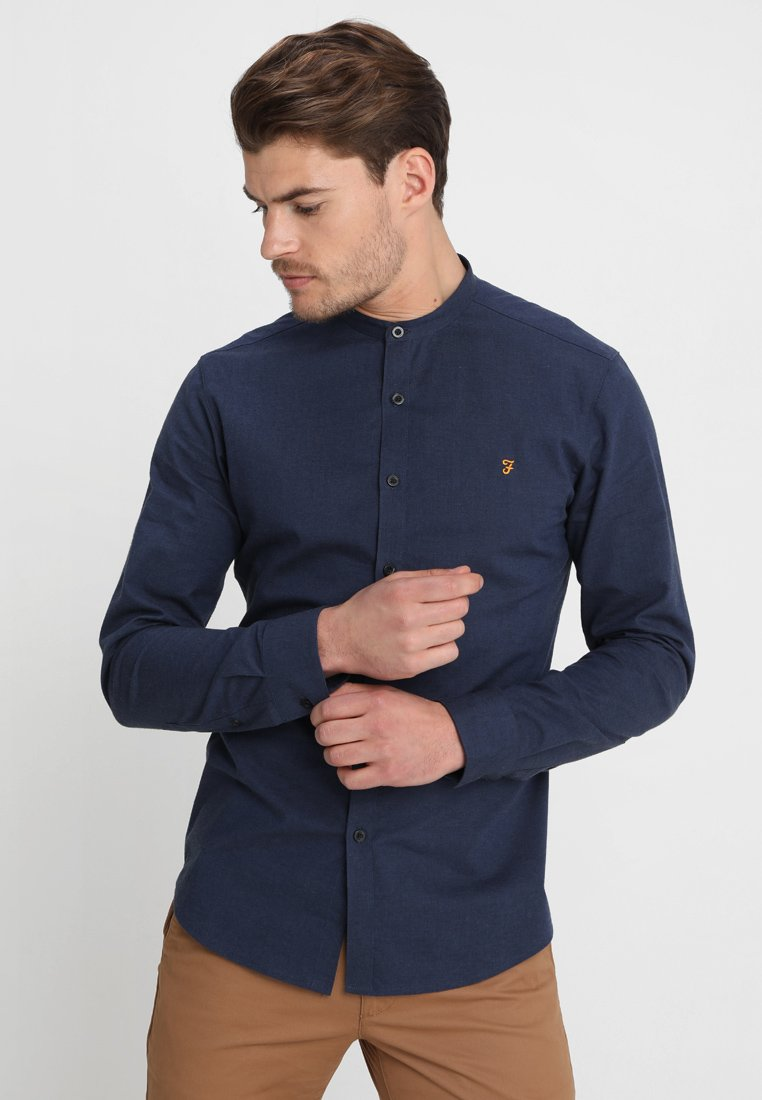 Farah - STEEN GRANDAD - Skjorter - true navy marl