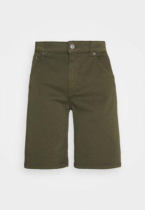 Denim shorts - oliv