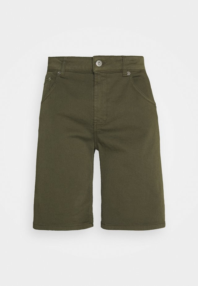 Jeans Shorts - oliv