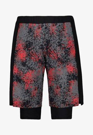 ULLA POPKEN 2-IN-1- BERMUDASHORTS 791500 - Shorts - red grey black