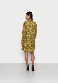 Object Petite - OBJZANIA  DRESS - Day dress - khaki - 2
