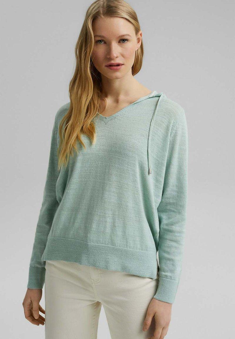 Esprit - Hoodie - light aqua green
