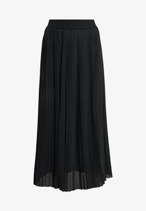 PETRI CARMEN SOLID SKIRT - Pleated skirt - black
