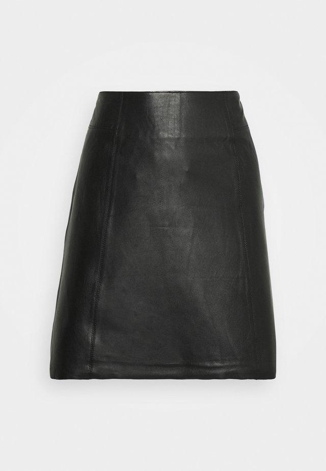 SLFIBI SKIRT - Mini skirt - black