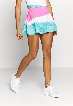 MORA TECH SKORT - Spódnica sportowa - pink/white/mint