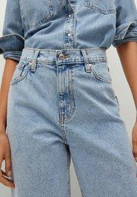 Mango - ANTONELA - Relaxed fit jeans - medium blue - 4